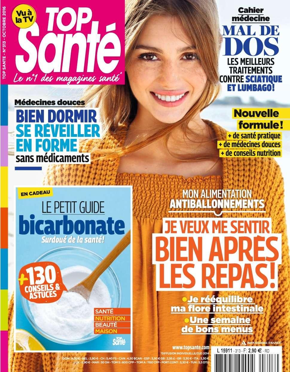 Top Santé 313 - Octobre 2016