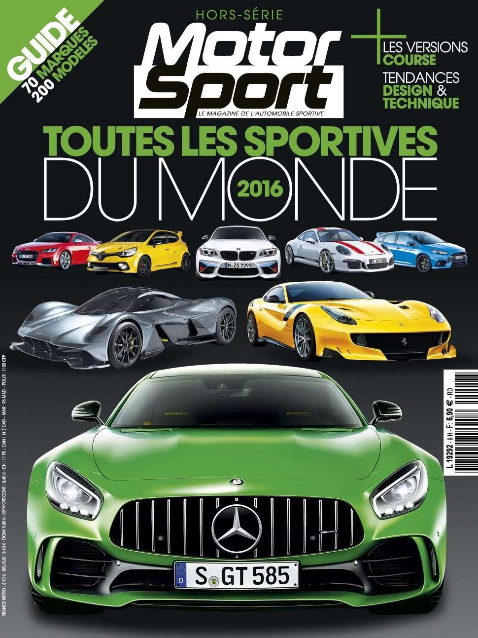 Motorsport Hors Série 9 - Toutes Les Sportives du Monde 2016