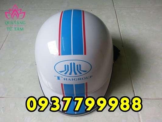 in logo nón bảo hiểm giá rẻ, in logo mũ bảo hiểm giá rẻ