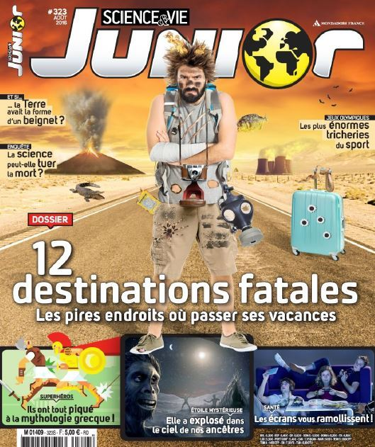 Science & Vie Junior - Aout 2016