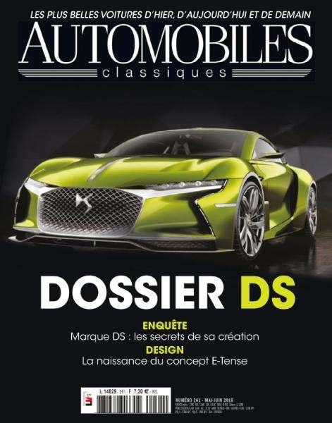 Automobiles Classiques 261 - Mai-Juin 2016