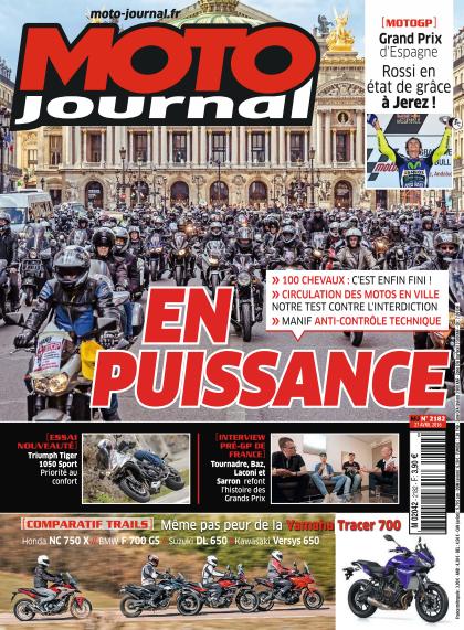 Moto Journal - 27 Avril 2016