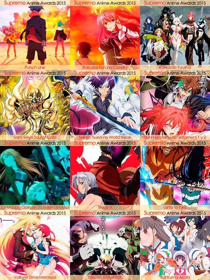 Eliminatorias Nominados a Mejor Anime de Aventura y Fantasía 2015