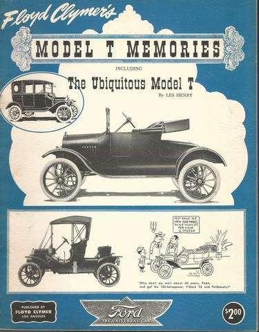 Model T Memories, Clymer, Floyd; Henry, Les
