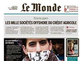 Le Monde du Jeudi 12 Mai 2016