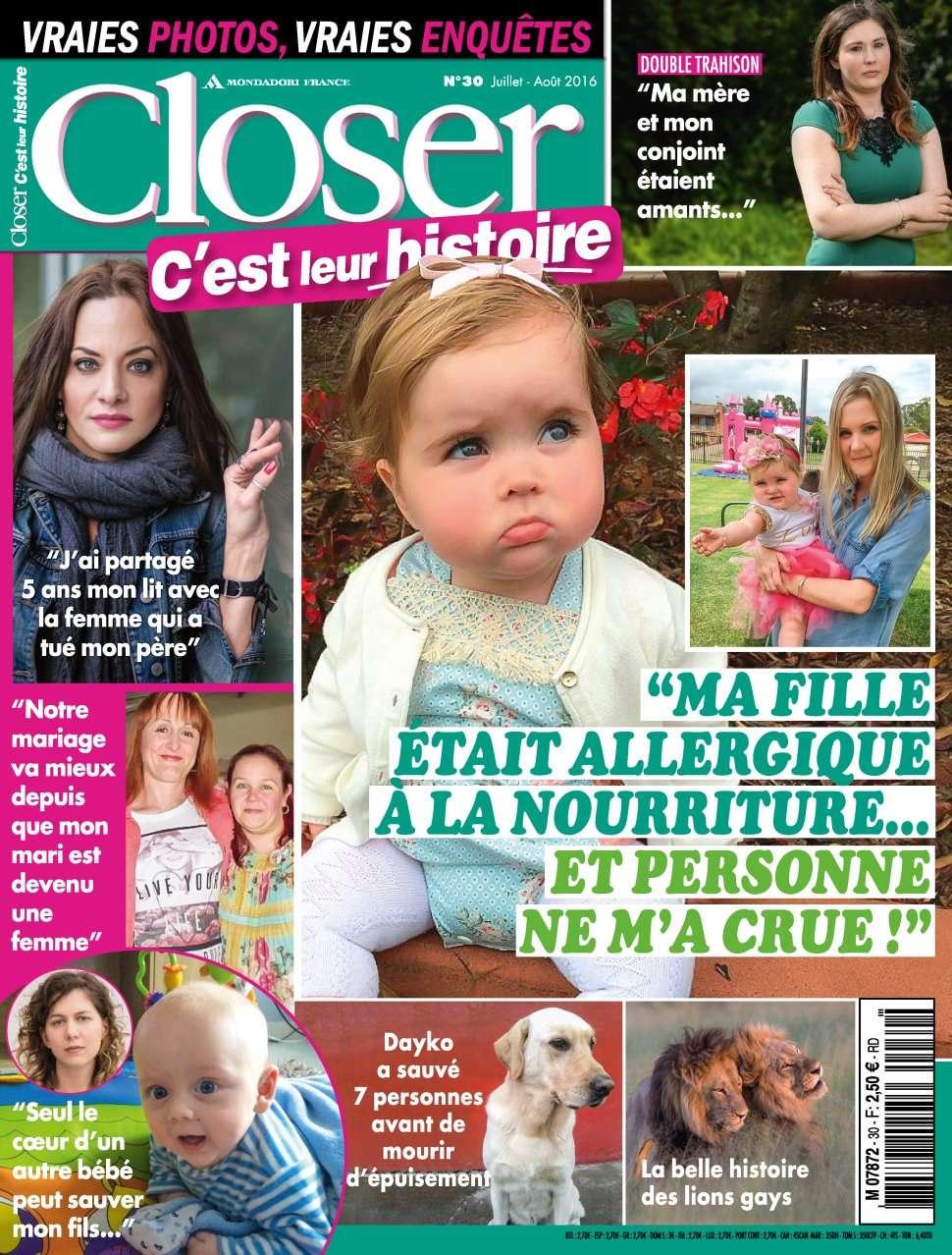 Closer Real Life 30 - Juillet/Aout 2016