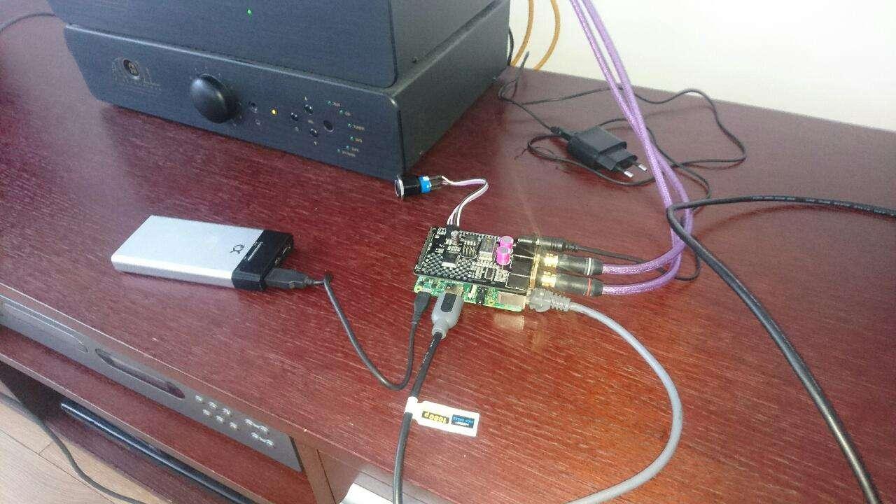 Raspberry Pi Malinka Z Daciem Hifi Swietny Odtwarzacz Sieciowy Subwoofer Audio Amplifier Circuit Board Diy From Army66666 1026 Doczona Grafika