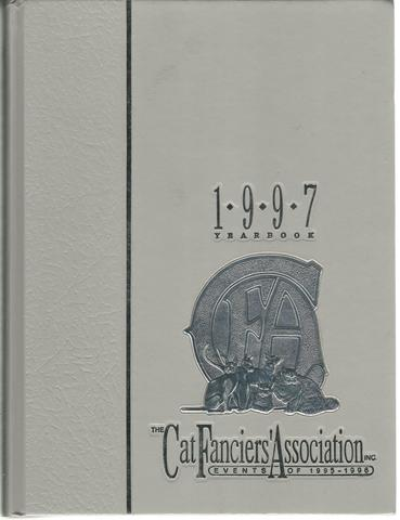 The Cat Fanciers' Association:  1997 Yearbook, Reynolds, Graham