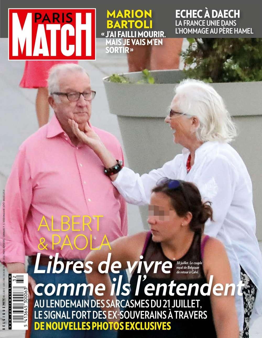Paris Match Belgique 778 - 04 au 10 Août 2016