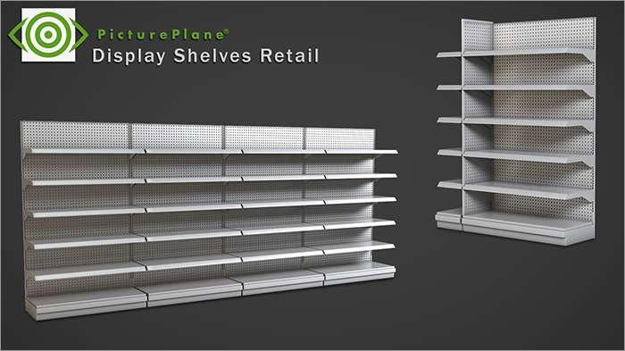 Display Shelves Retail