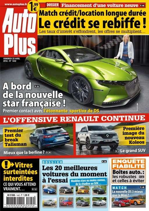 Auto Plus 1442- 22 au 28 Avril 2016