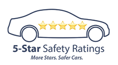 National Highway Traffic Safety Administration (NHTSA) 5 Star Safety Rating