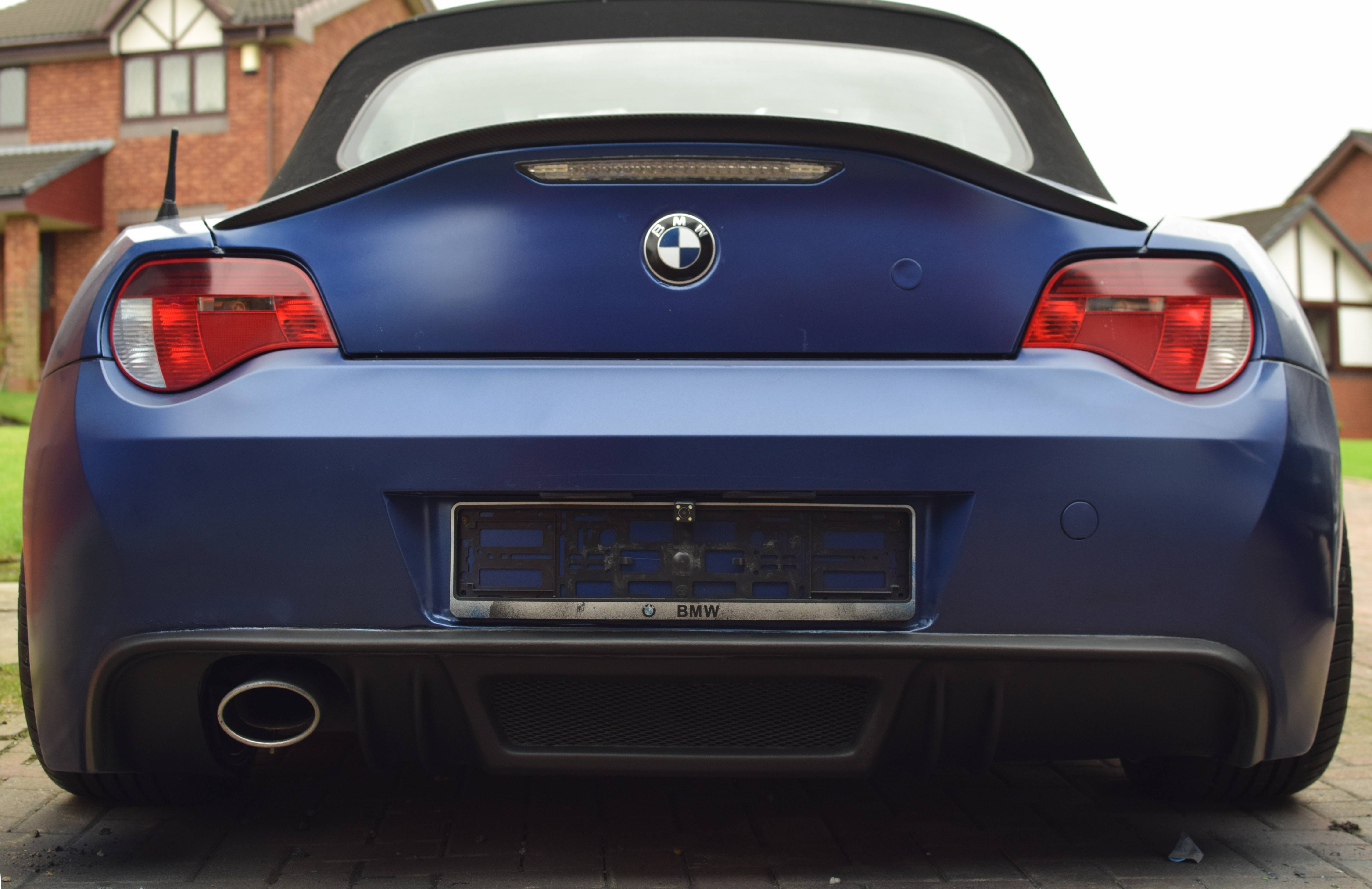 Is this the 2 0i exhaust solution Z4 forum