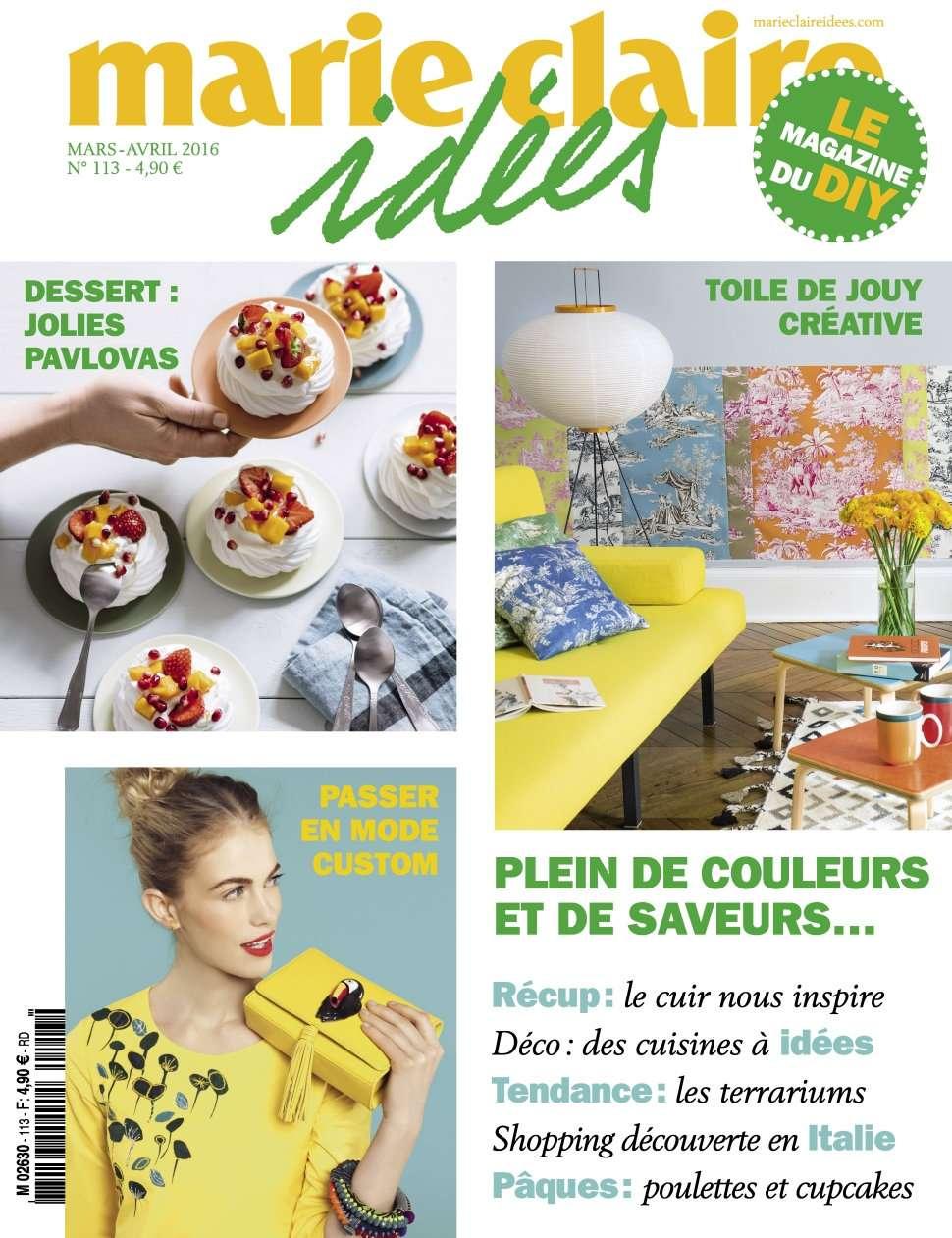 Marie Claire Idées 113 - Mars/Avril 2016