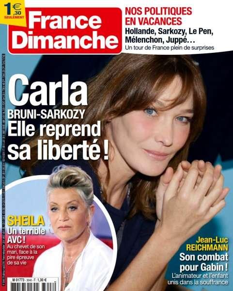 France Dimanche 3648 - 29 Juillet au 4 Août 2016