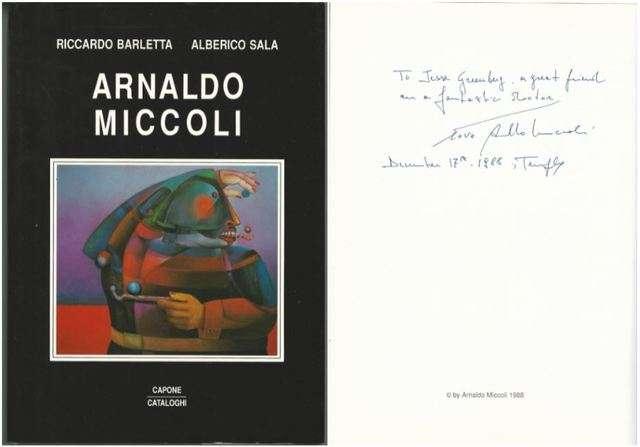 Arnaldo Miccoli, BARLETTA, Riccardo and Alberico Sala