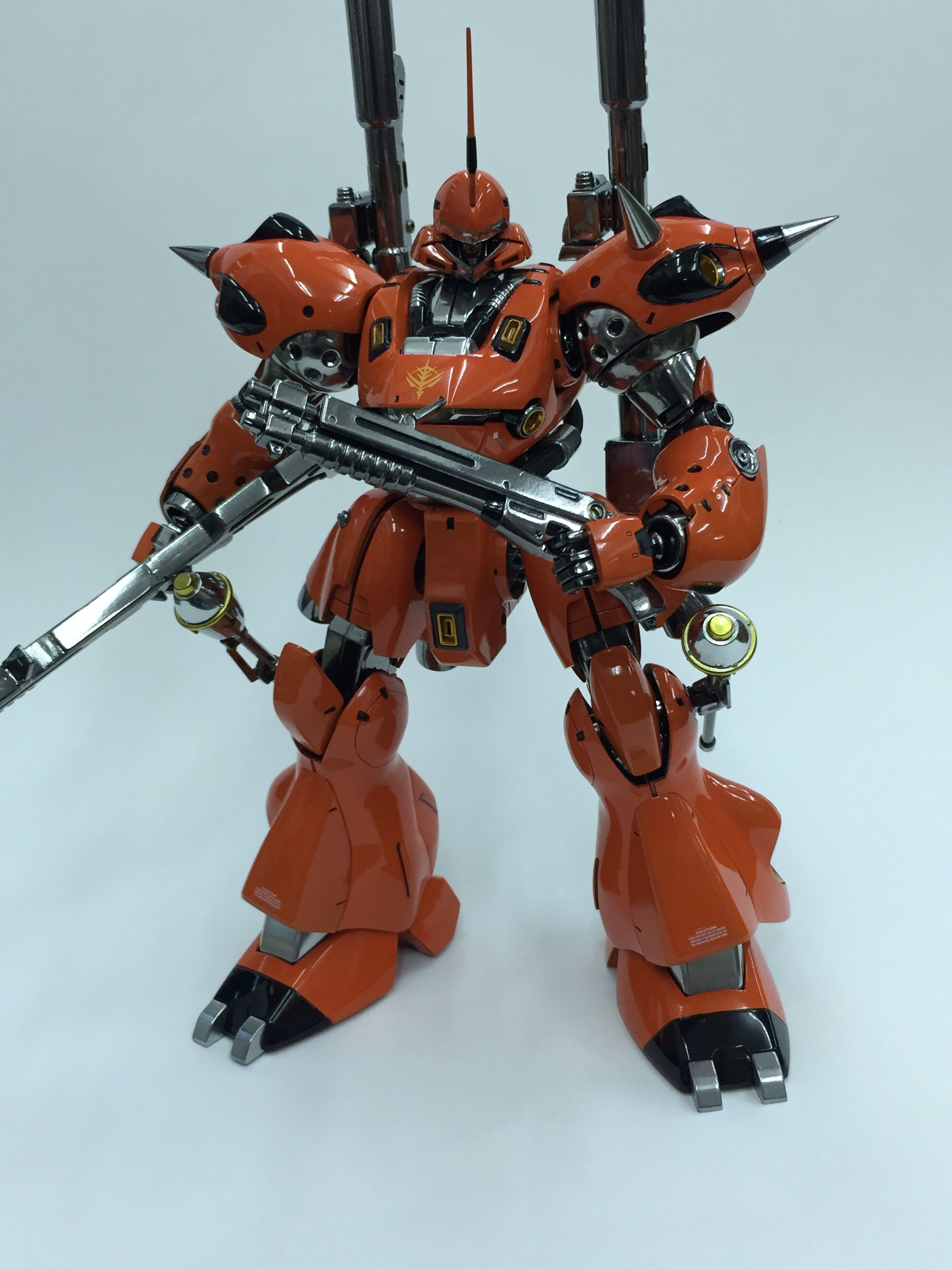 Kampfer bandai custom โดย berserker8