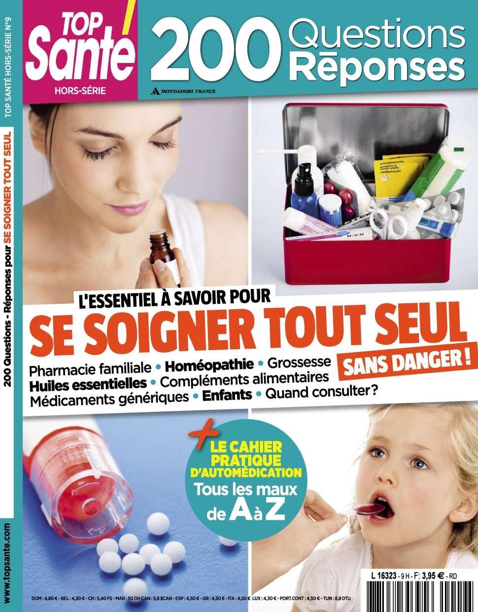 Top Santé Hors-Série 9 - sSe Soigner Tout Seul