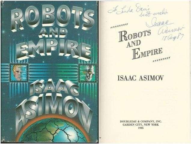 Robots and Empire, Asimov, Isaac