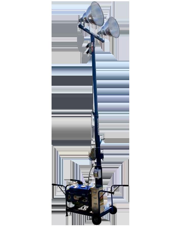 Torre de Iluminación Mpower 2 Focos para Generador