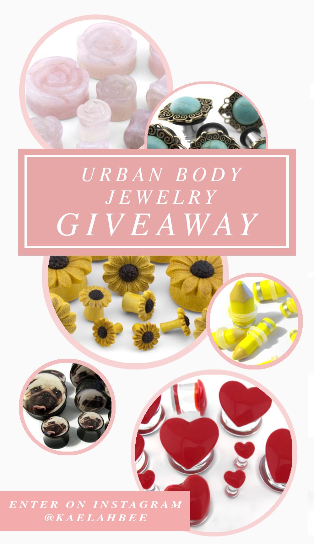 Urban Body Jewelry Giveaway