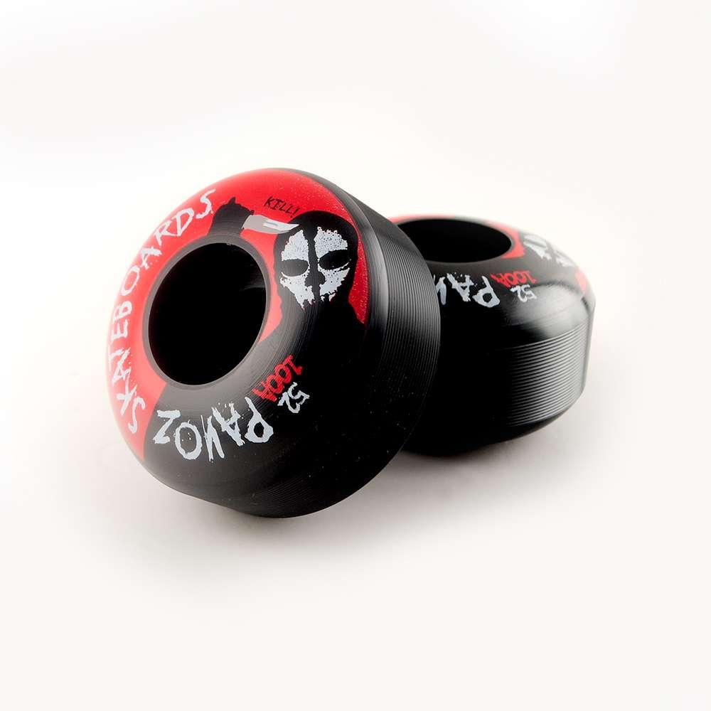 skateboard r der viel 52mm 100a maske schwarz mit lager. Black Bedroom Furniture Sets. Home Design Ideas