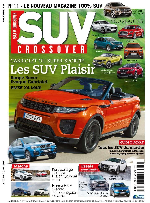 Suv Crossover 11 - Mai/Juin 2016
