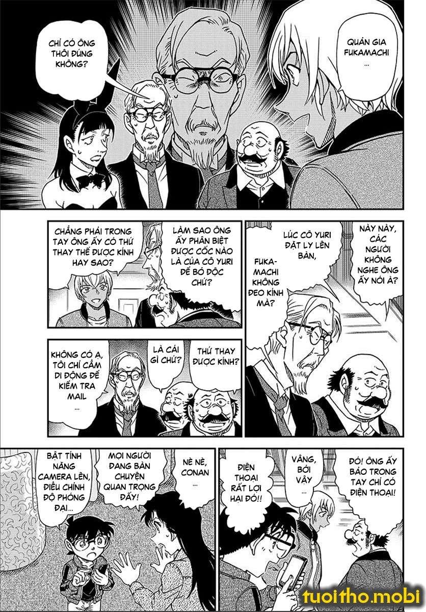 Detective Conan Chap 1012 - Trang 5