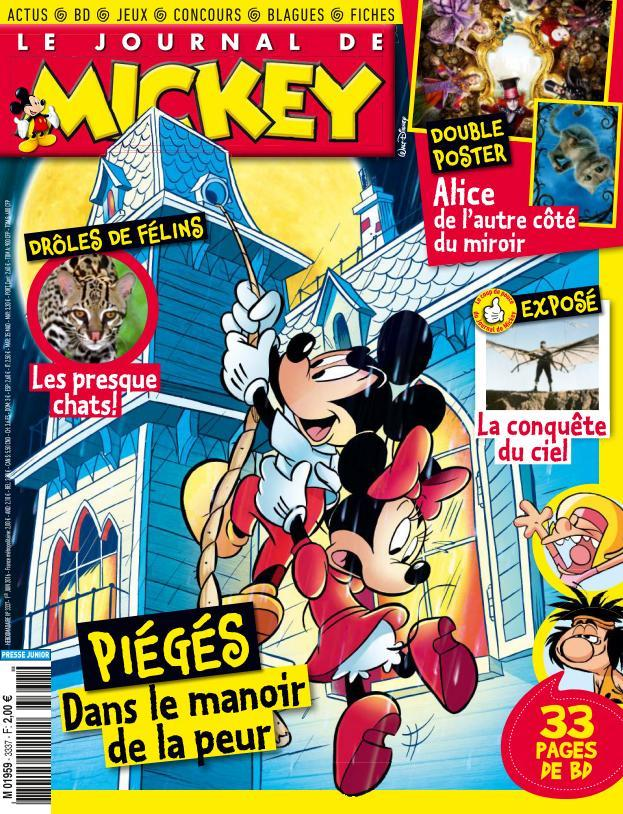 Le Journal de Mickey - 1 au 7 Juin 2016