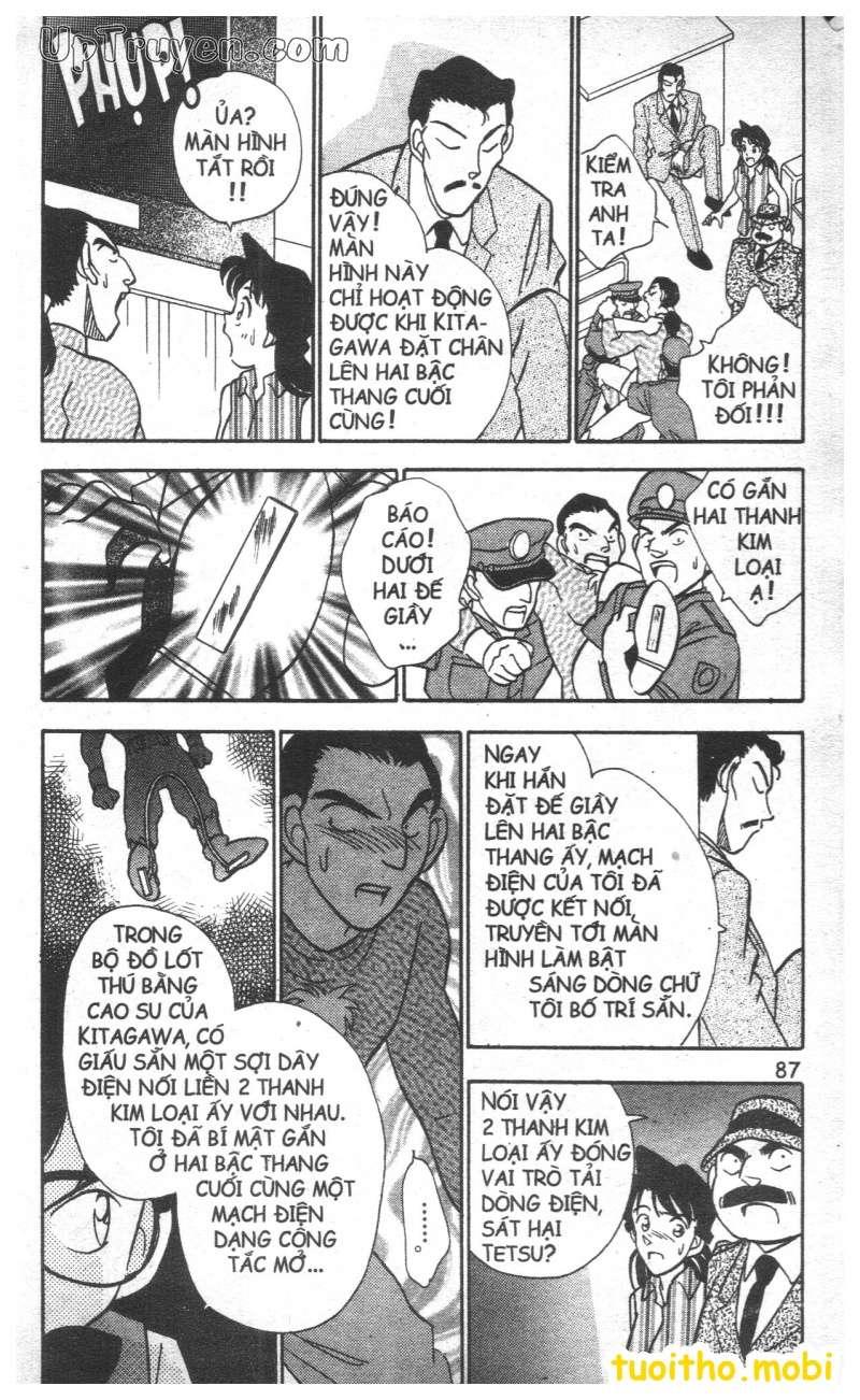 đọc truyện Conan bộ đặc biệt chap 22 trang 10