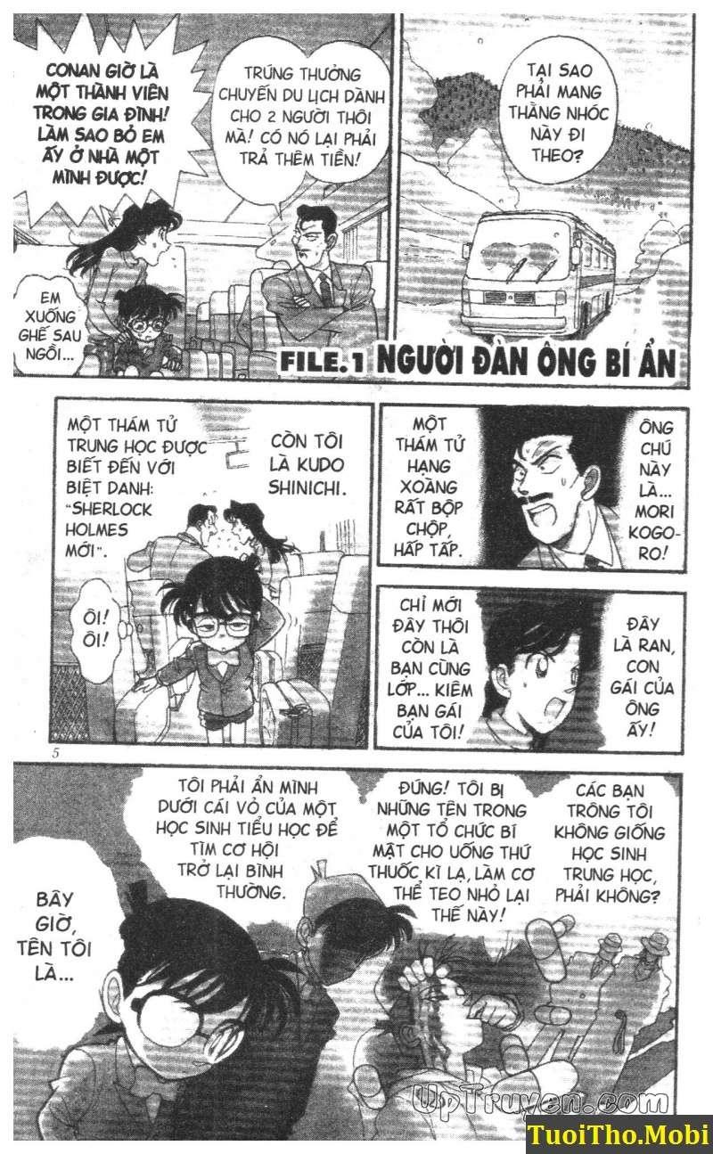đọc truyện Conan bộ đặc biệt chap 1 trang 0