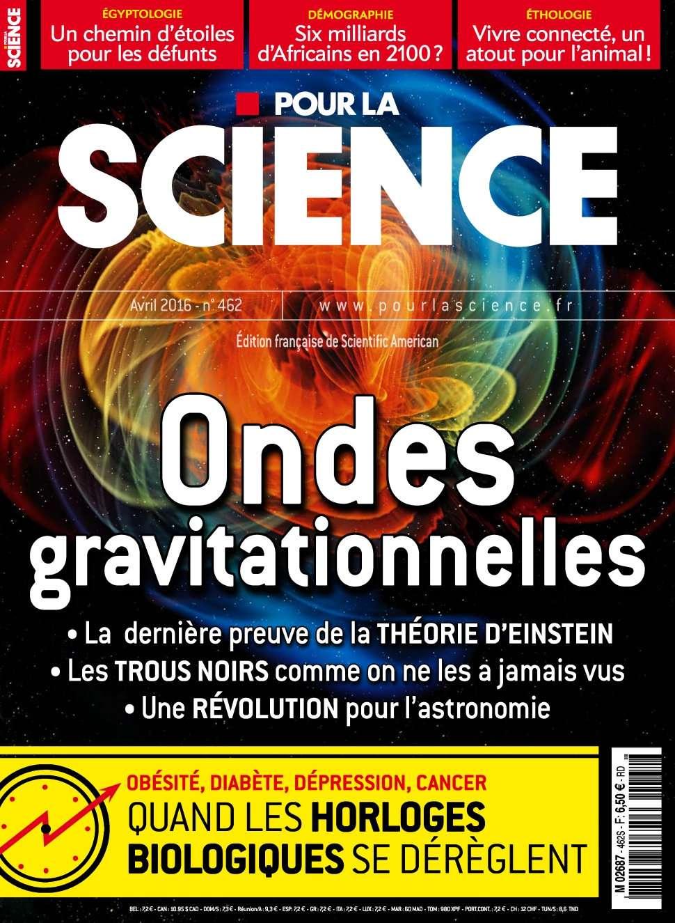 Pour la Science 462 - Avril 2016