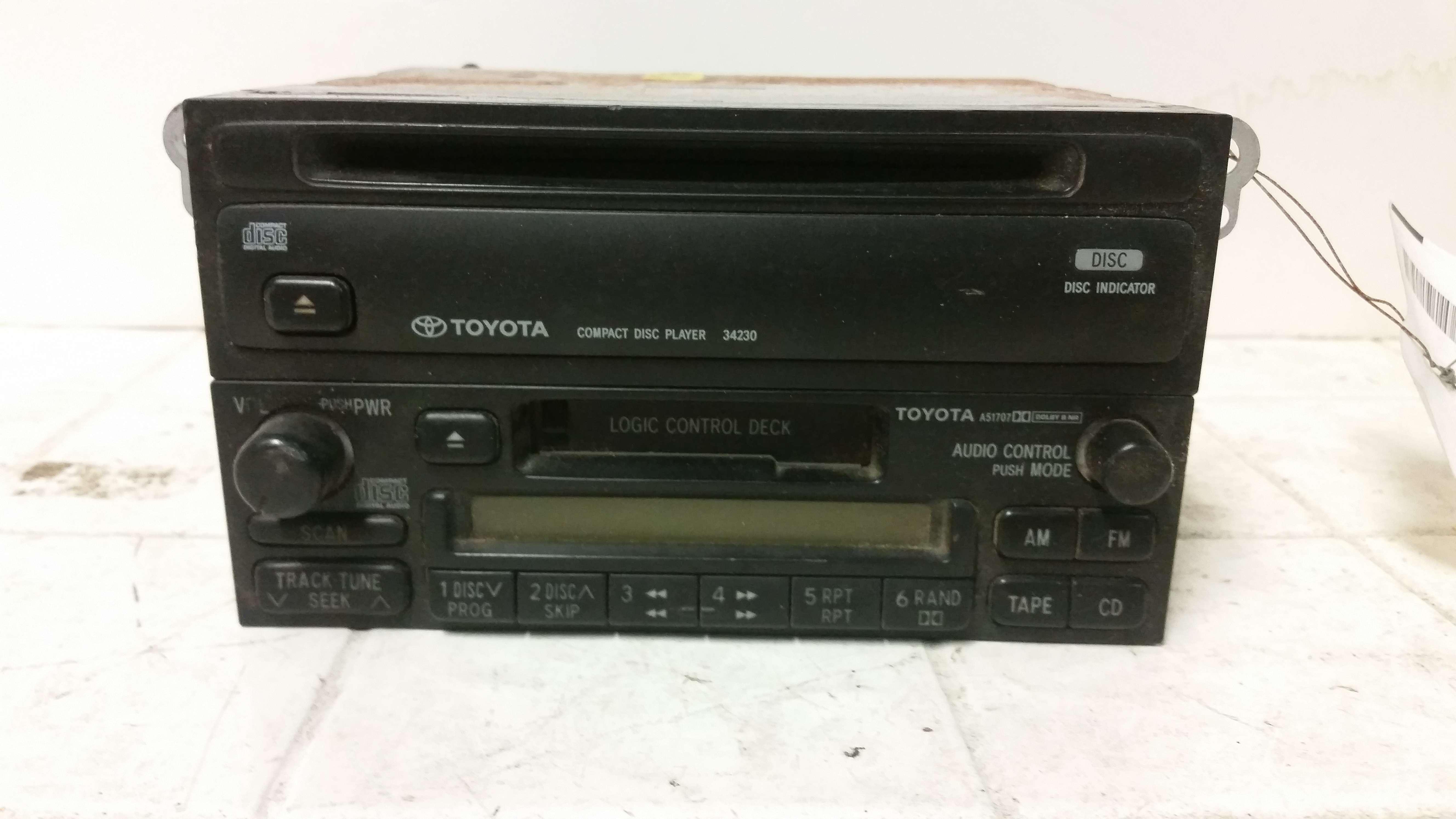 Toyota Supra Radio  1985 Toyota Supra Stock Radio Equalizer  86 87 88 Toyota Supra Oem Radio