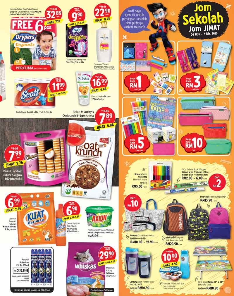 Tesco Malaysia Weekly Catalogue (17 November - 23 November 2016)