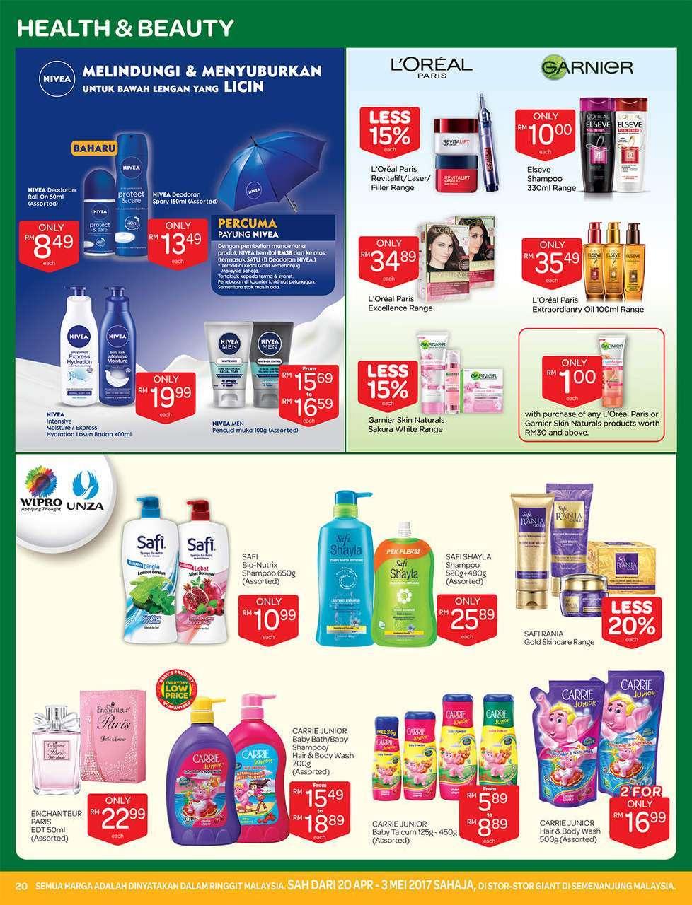 Giant Catalogue (20 April 2017 - 3 May 2017)