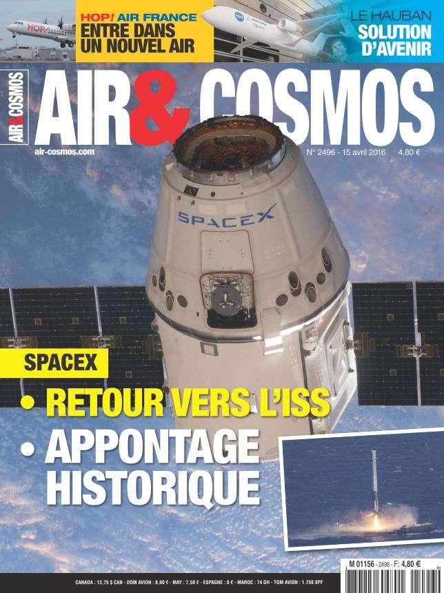 Air & Cosmos 2496 - 15 au 21 Avril 2016