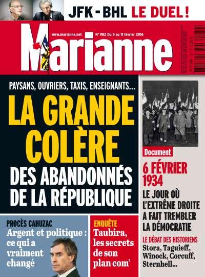 Marianne - 5 au 11 Février 2016