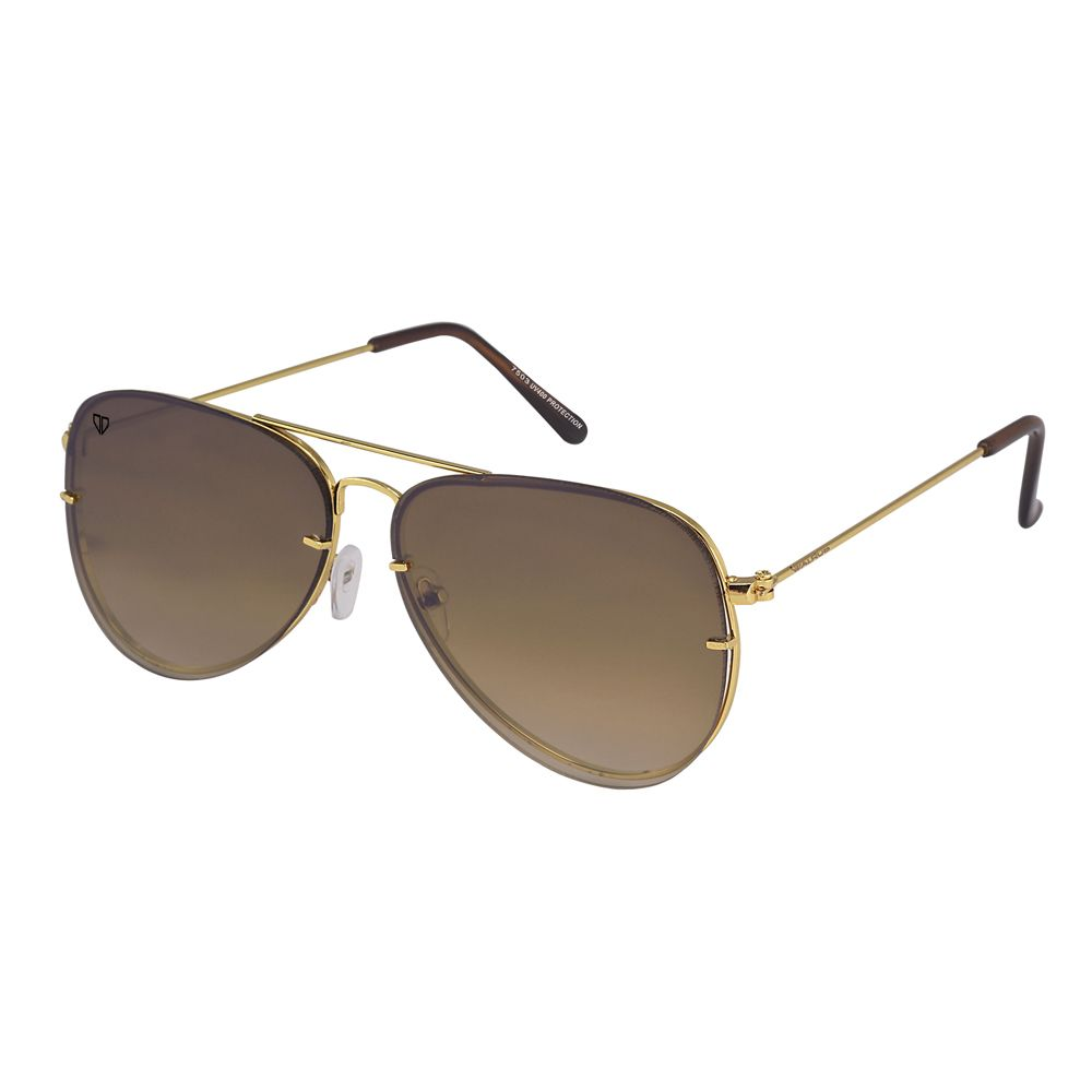 Walrus Noah Brown Color Unisex Aviator Sunglass - WS-NOAH-090606