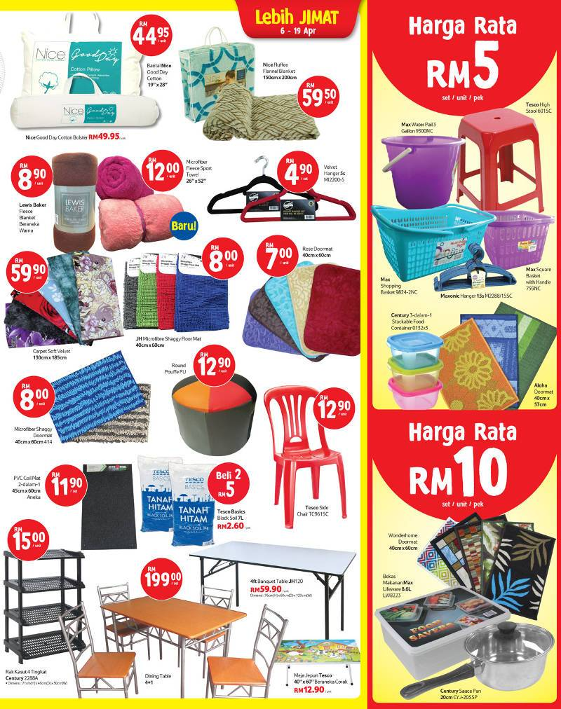 Tesco Malaysia Weekly Catalogue (6 April 2017 - 12 April 2017)