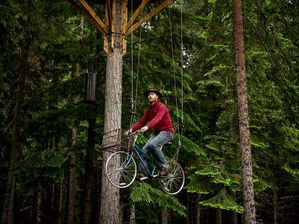 Backyard Treehouse (Sandpoint/ Idaho)