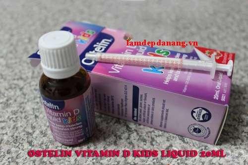 Vitamin D Ostelin dạng nước cho trẻ em 139