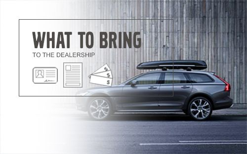 Volvo Cars - What To Bring