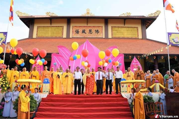 CHÂU ĐỨC: Ban Trị Sự Phật Giáo Huyện Châu Đức Long Trọng Tổ Chức Đại Lễ Phật Đản PL.2562-DL. 2018