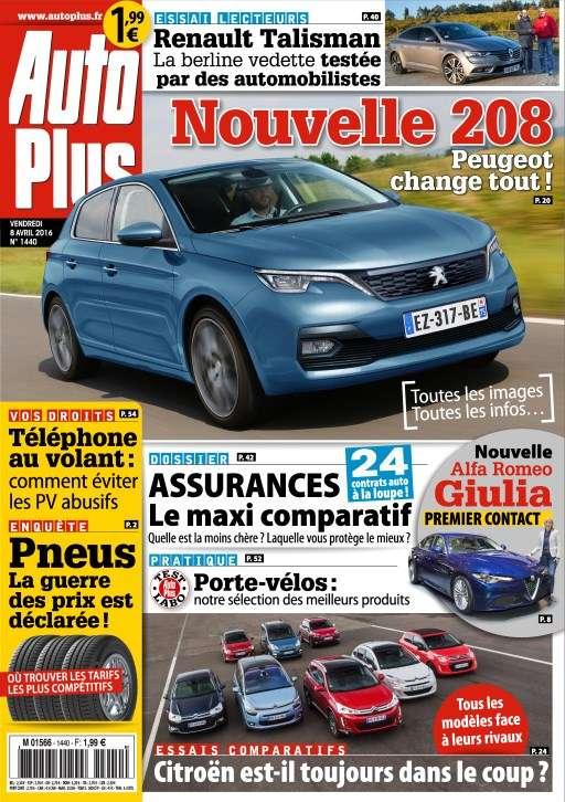 Auto Plus 1440 - 8 au 14 Avril 2016