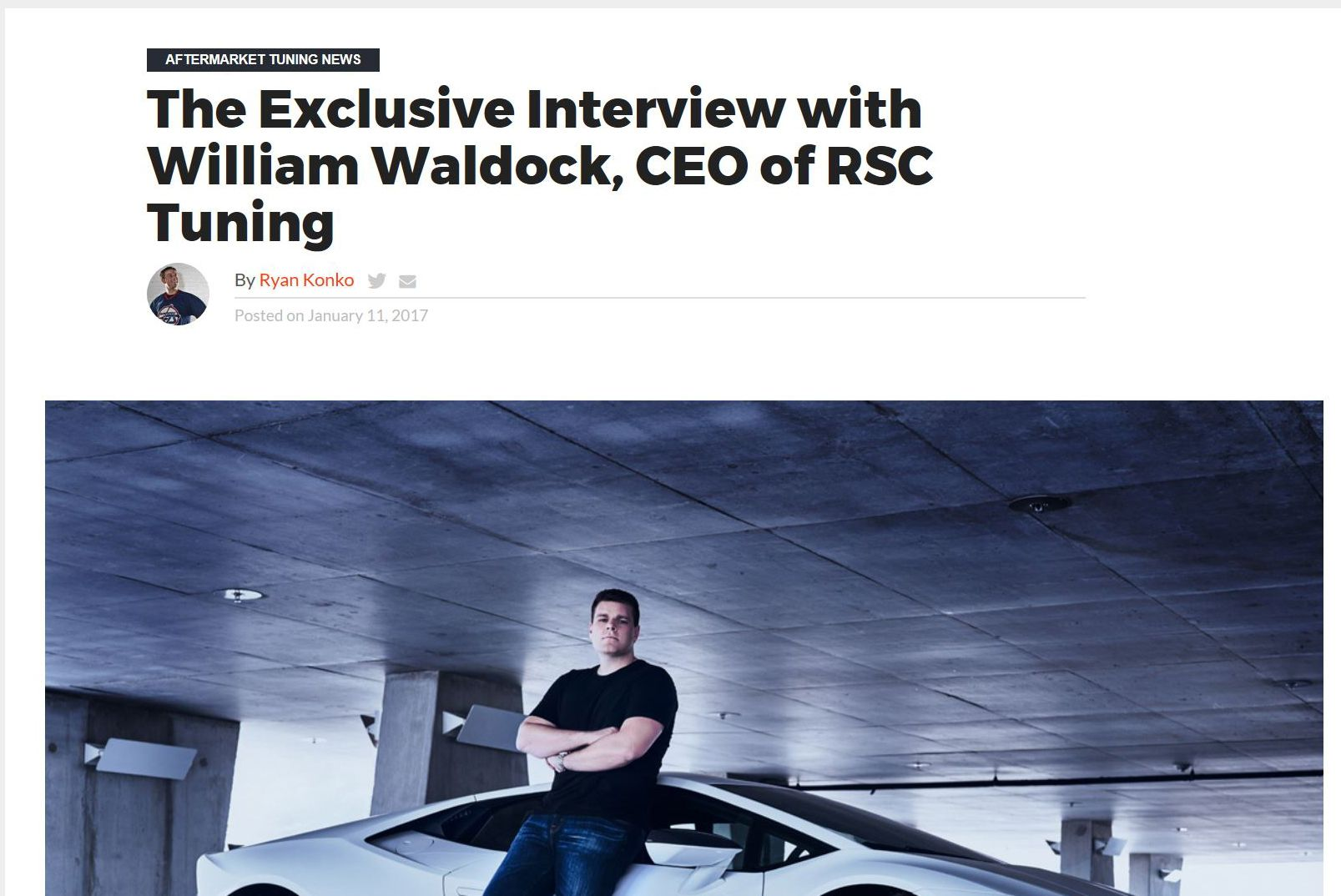 Motoring Exposure Exclusive interview with RSC Tuning CEO