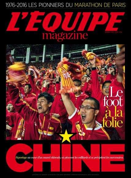 L'Equipe Magazine - 2 Avril 2016
