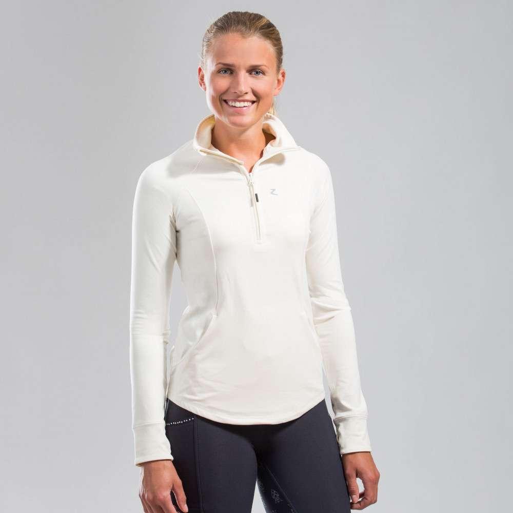 Horze Andie Quick Dry Extra Comfort Women/'s Sport Shirt Thumb Holes