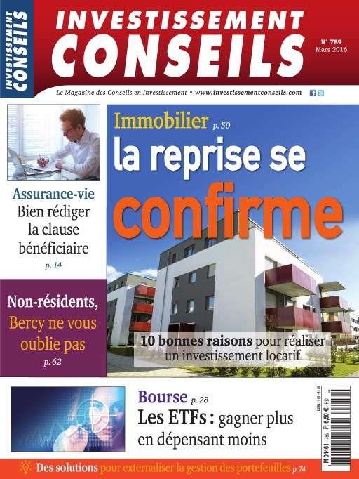Investissement Conseils 789 - Mars 2016
