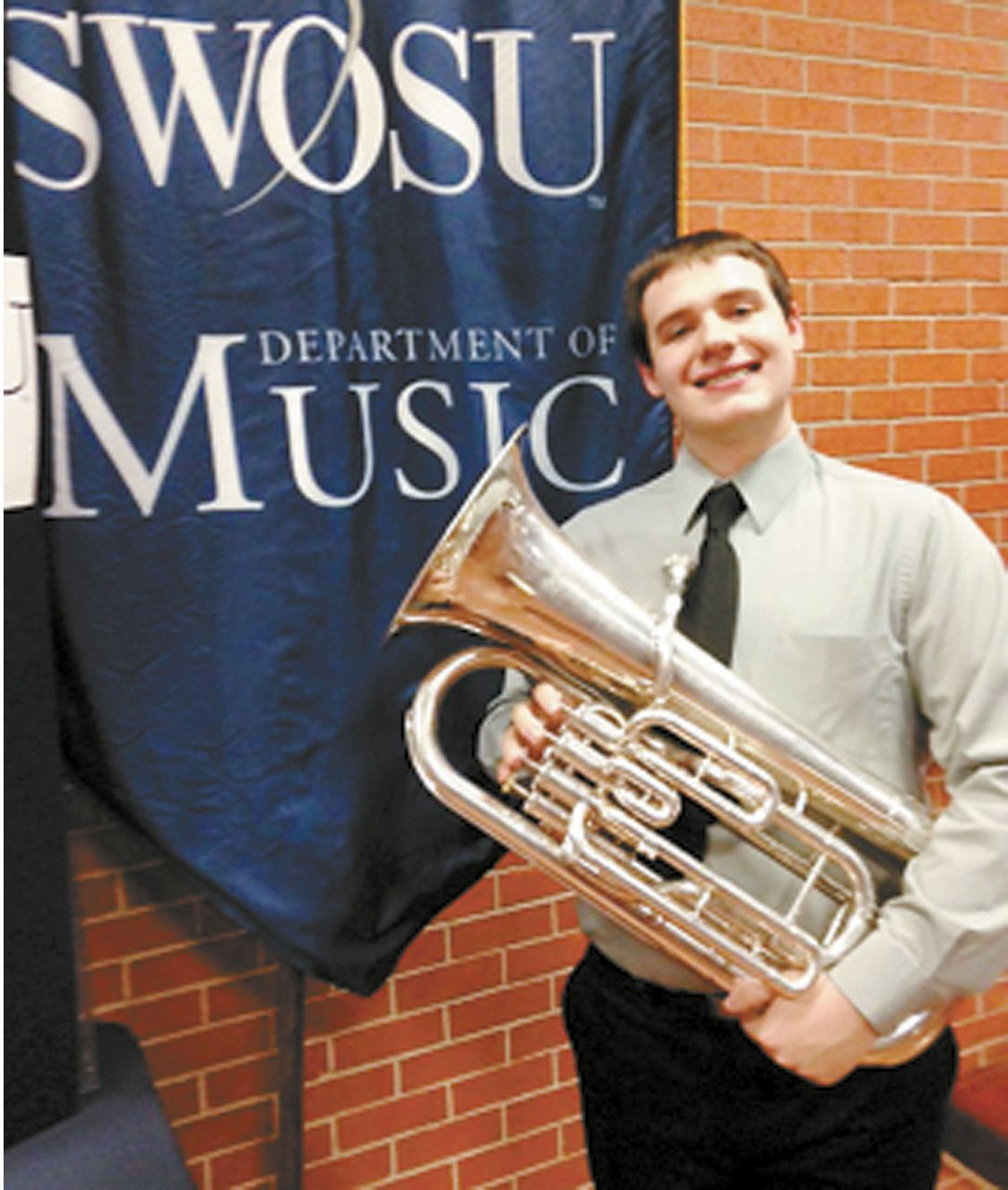 Blume Attends Honor Band