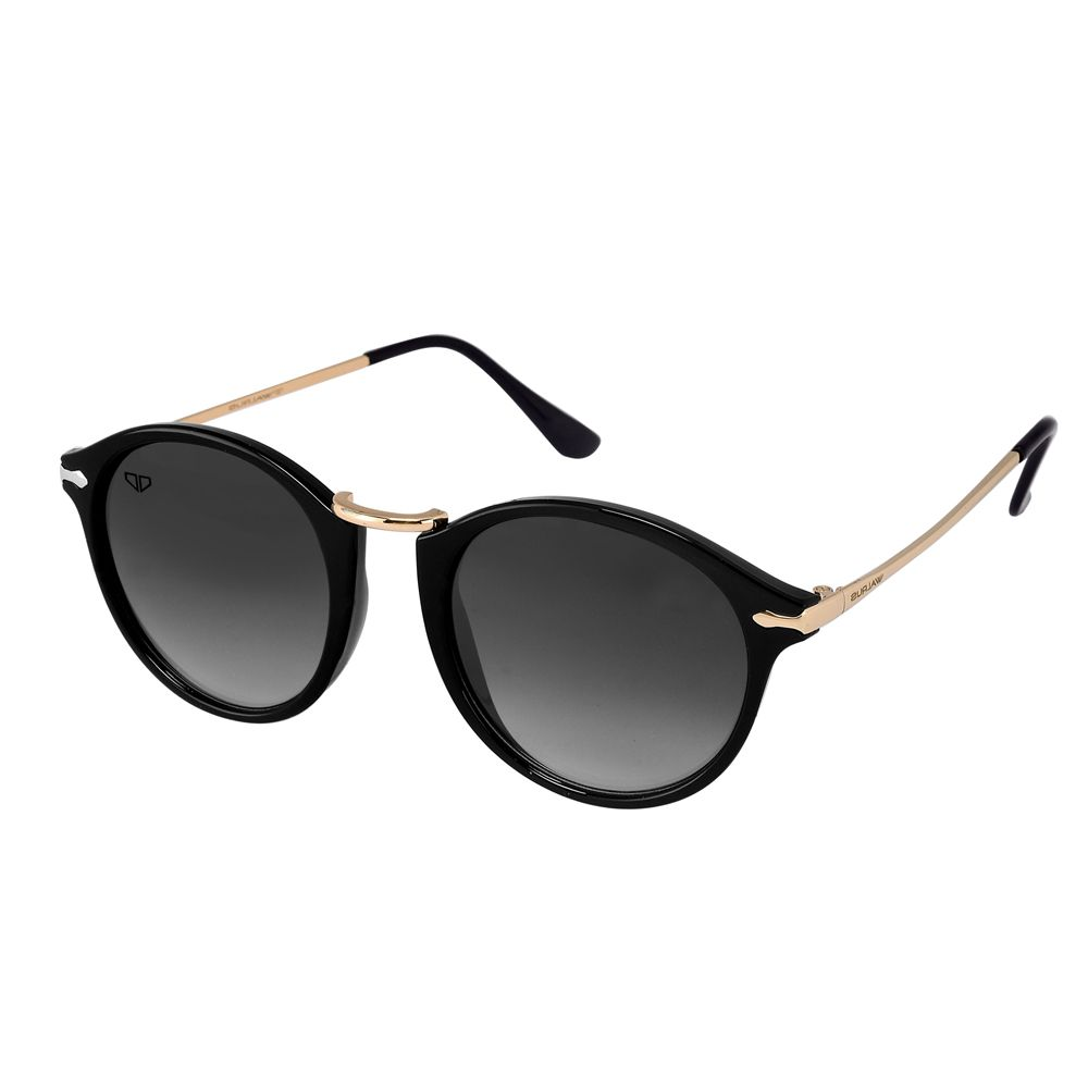 Walrus Jackson Black Color Unisex Oval Sunglass - WS-JKSN-II-020206